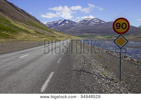 Route 1 Or The Ring Road In Iceland