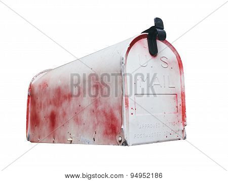 Us Mailbox Isolated