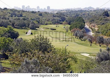 Golf Field in Algarve - Portugal