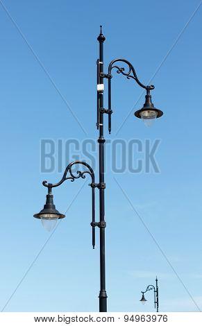 Retro Street Lamp
