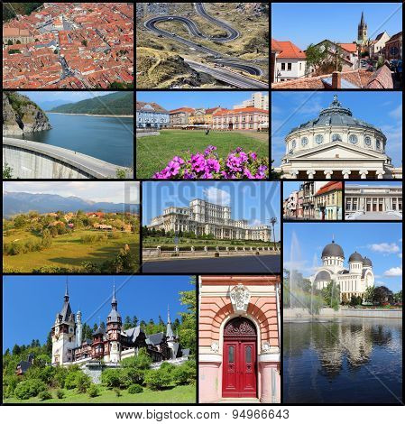 Romania Collage