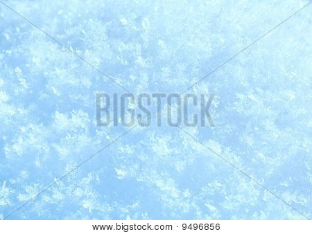 Winter Snow Surface (macro)
