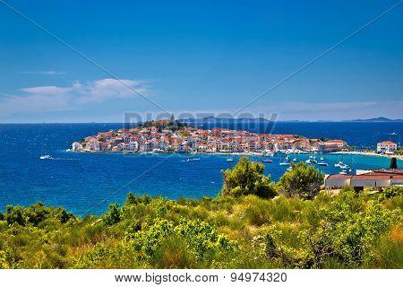 Town Of Primosten Dalmatian Town On Rock