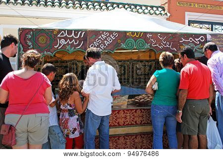 Medieval bread stall, Barbate.