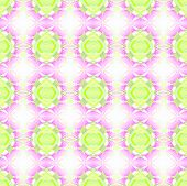 Abstract geometric background, seamless ellipse and diamond pattern, gleaming and blurred, delicate in fresh springlike colors poster