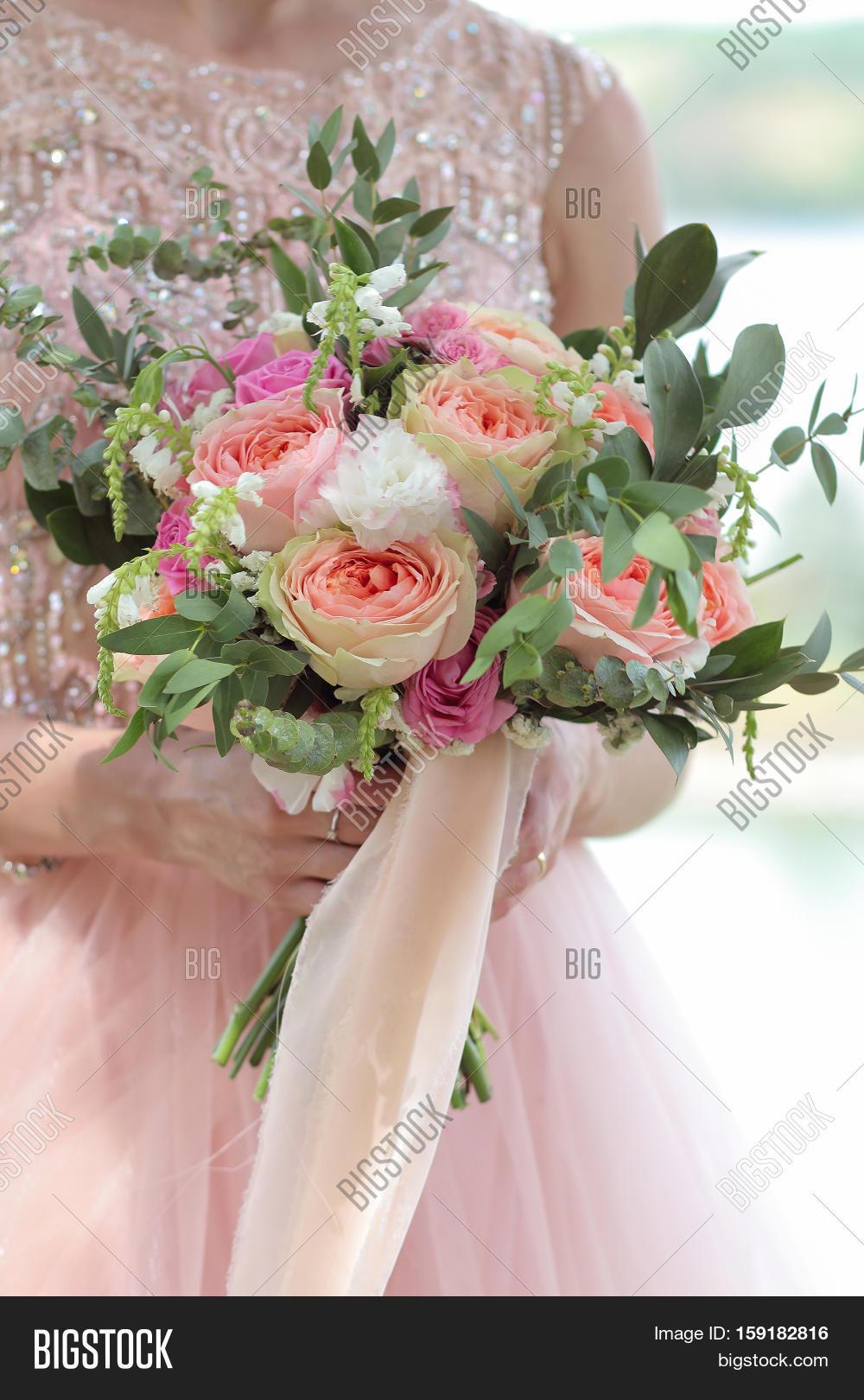 Bride Holding Image Photo Free Trial Bigstock