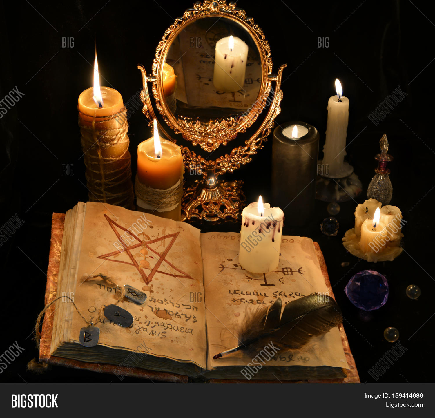 Mystic Still Life Image Amp Photo Free Trial Bigstock