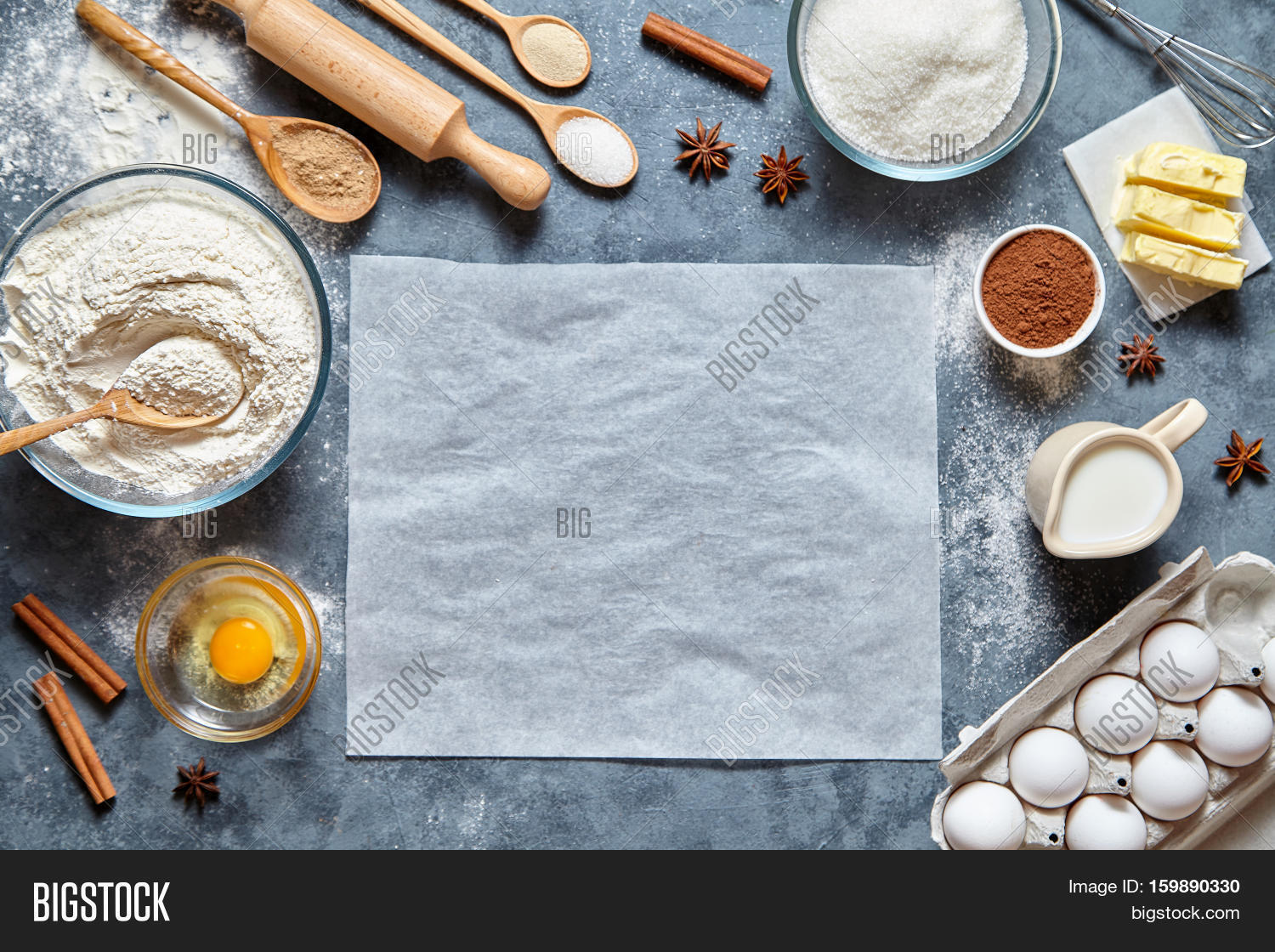 Food To Make With Flour Eggs And Milk