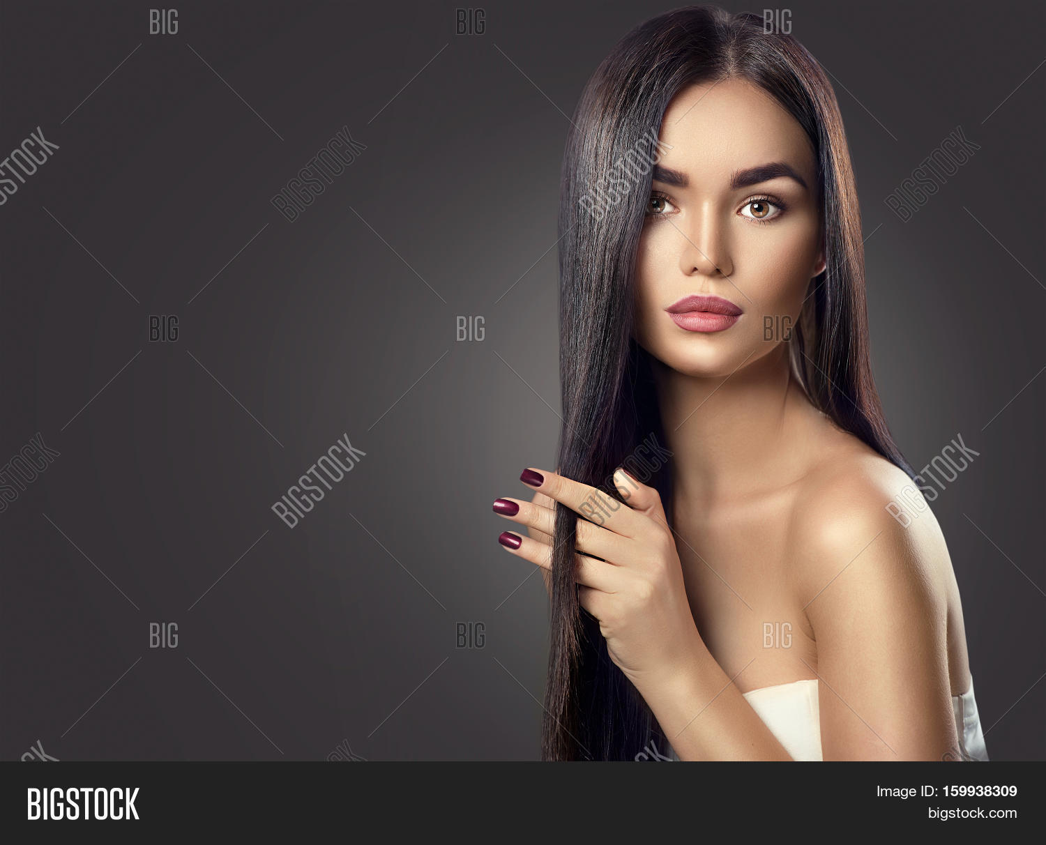 Beautiful Long Hair. Image & Photo (Free Trial)