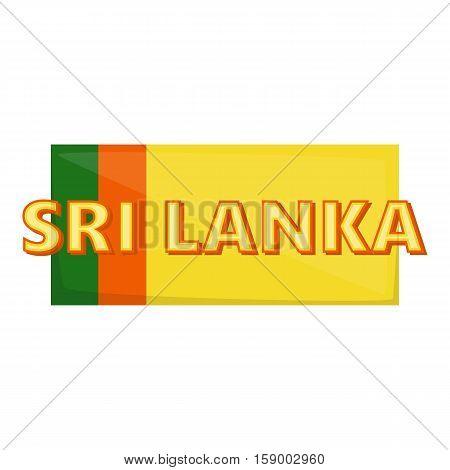 Sri lanka icon. Cartoon illustration of sri lanka vector icon for web