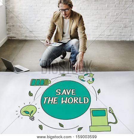 Eco Energy Saving Environmental Conservation Ecology Concept