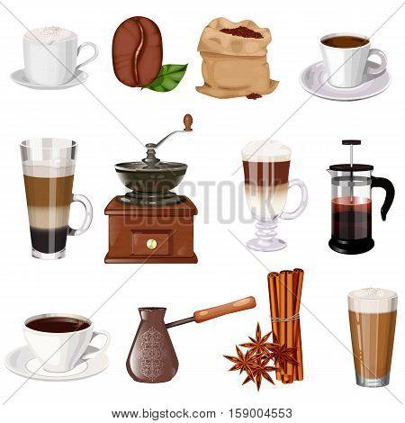 Coffee Theme Vector Set