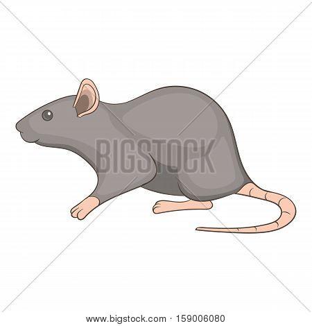 Rat icon. Cartoon illustration of rat vector icon for web