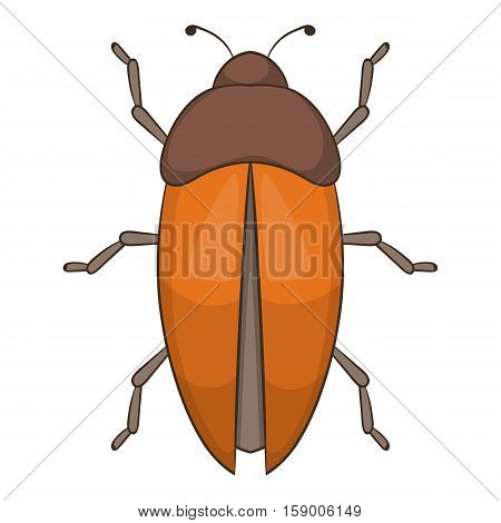 Bug icon. Cartoon illustration of bug vector icon for web