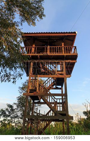 The observatory in the forest of Thailand