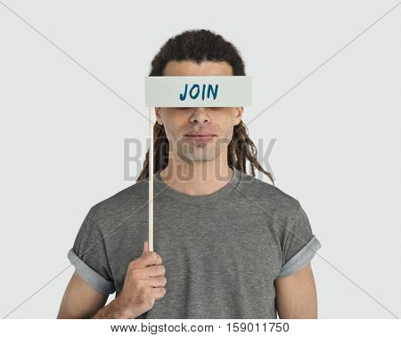 Join Apply Headhunting Word Concept