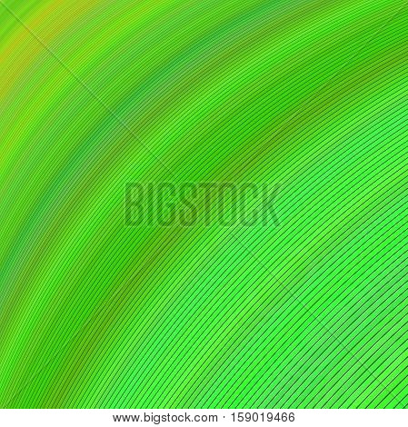 Green abstract computer generated background design vector
