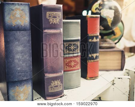 Book Shelf Vintage decoration object Novel reading