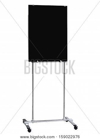 Blackboard Stand Sign Infomation Board display Isolated