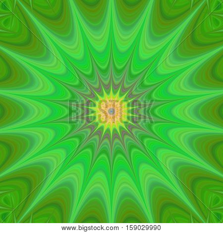 Green abstract computer generated star background design vector