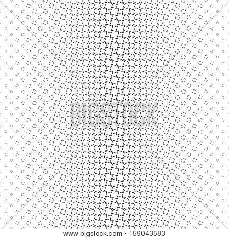 Monochrome geometric angular square pattern background design