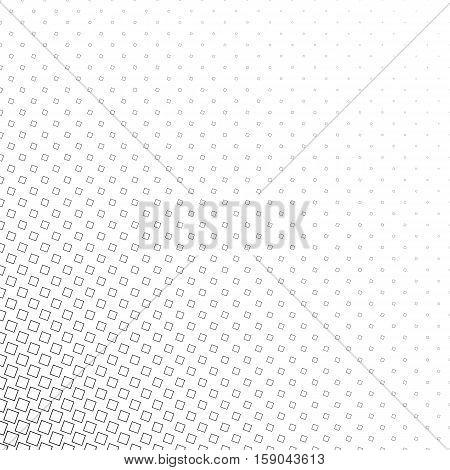 Abstract monochrome geometric angular square pattern background