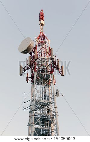 Iron communication and broadcast tower in Varese