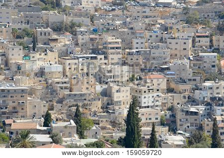 JERUSALEM ISRAEL 24 10 16: East Jerusalem or Eastern Jerusalem is the sector of Jerusalem that was not part of Israeli-held West Jerusalem at the end of the 1948-1949 Arab Israeli War.