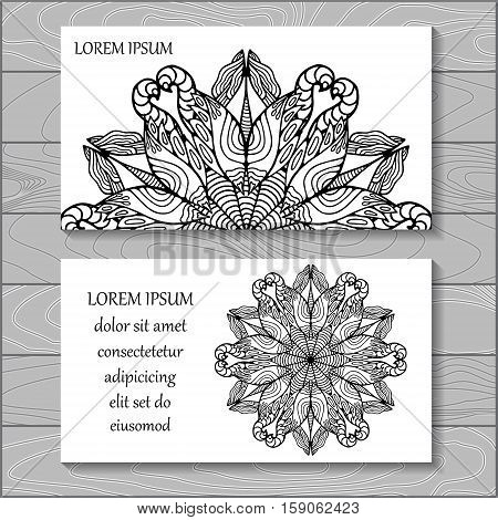 stock vector background. template for card cover poster. doodle christmas pattern