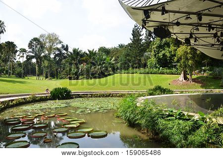 The Shaw Foundation Symphony Stage In Singapore Botanic Gardens