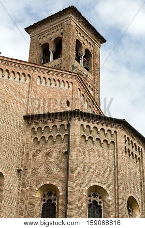 The Church of the Eremitani is an Augustinian church of the 13th century. Padua Italy