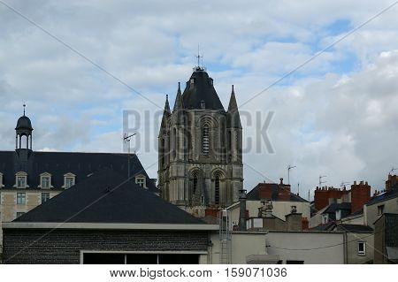City Of Angers In France. In The Maine-et-loire Department In Western France About 300 Km (190 Mi) S