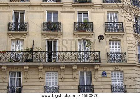 An Apartment Building In Paris