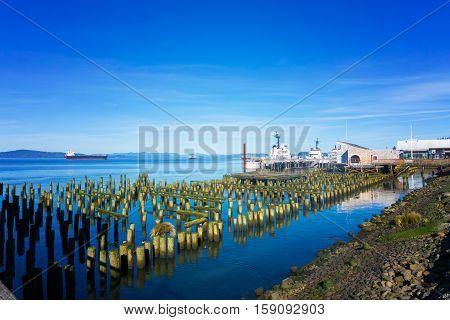 Astoria, Oregon Waterfront
