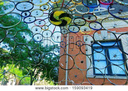 Public Art Dispaly