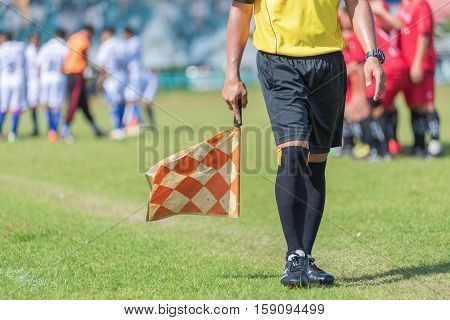 soccer or football assistant referee in Thailand .