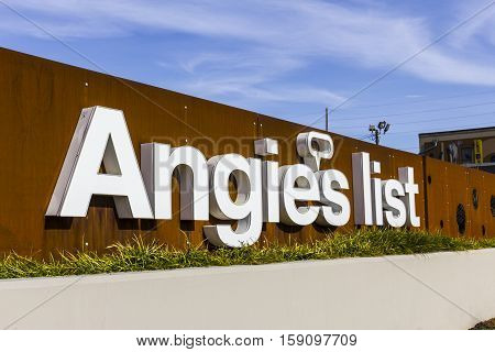 Indianapolis - Circa November 2016: Angie's List Corporate Office and Headquarters V
