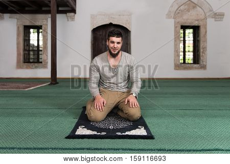 Portrait Of Young Muslim Man