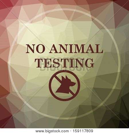 No Animal Testing Icon