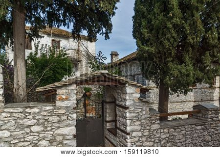 Orthodox church in village of Theologos,Thassos island, East Macedonia and Thrace, Greece