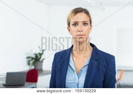 Woman Ready To The Business Challenge