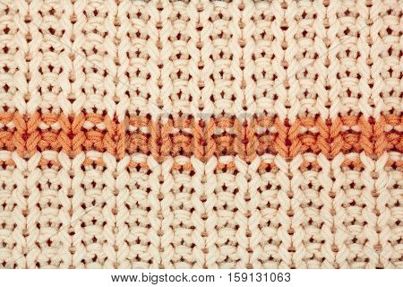 Knitted Fabric Textured Background