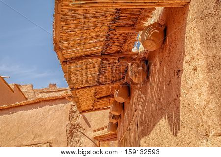 House Detail In Fortress Ait Ben Haddou