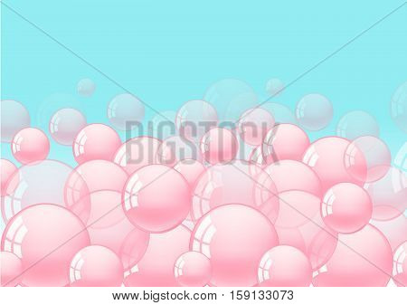 Background With Bubble Gum