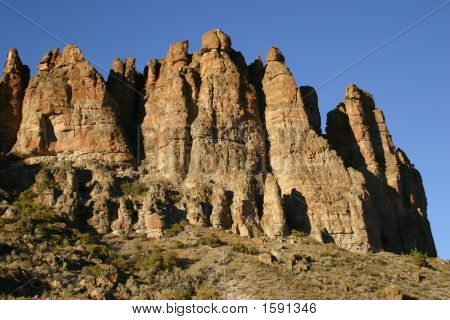 The Palisades Rock Formation, Oregon