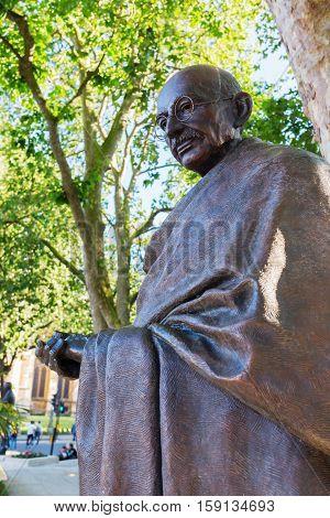 Bronze Statue Of Mahatma Gandhi In London