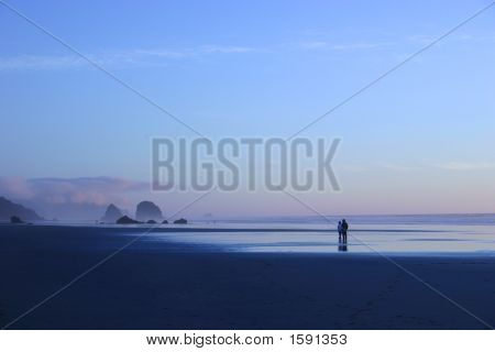 Evening At Cannon Beach