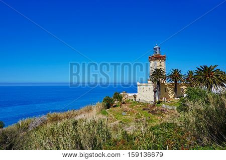 Lighthouse At The Cape Spartel In Tangier