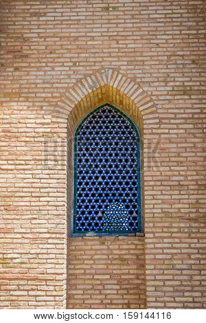 Window Of Turkistan Mausoleum, Kazakhstan