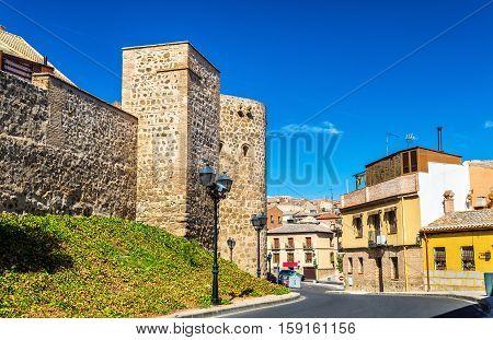 Defensive walls in Toledo - Spain, Castile-La Mancha